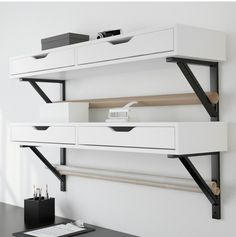 Living in a shoebox     Twenty wall shelves that add style as well as storage to your home