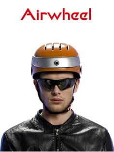 Product day, the details tell you the high quality. Airwheel C5 smart helmet.