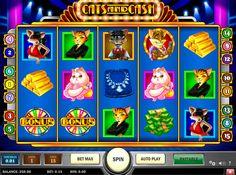 Cats and Cash on erittän hyvää kolikkopeli netissä joka on PlaynGo kehittääjä! Jos haluat voitta isot rahasummat, ilman muuta aloita pelata tämän hyvää ja erikkoinen kolikkopeli verkossa. Kasino pelissa on hyvää grafiikka, erilaiset bonukset, 5 rullat ja 15 voittolinjat!