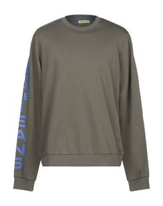 Versace Jeans Sweatshirt In Military Green Versace Jeans Mens, Military Green, Round Collar, Mens Sweatshirts, French Terry, Long Sleeve, Sleeves, Mens Tops, Shopping