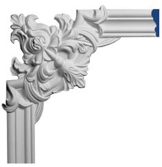 Panel molding and corners for ceiling panelling and wainscoting. Selection of panel moldings with pre-made molding corners for walls and ceiling Corner Moulding, Panel Moulding, Wall Molding, Closet Door Makeover, Window Curtain Rods, Beauty Salon Interior, Ceiling Panels, Classic Interior, Decorative Panels