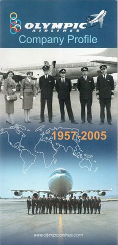 Olympic Airlines, National Airlines, Cabin Crew, Company Profile, Olympics, Aviation, History, World, Airplanes
