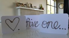 Gift tags #hearts #five #one #birthdayc #love #glitter