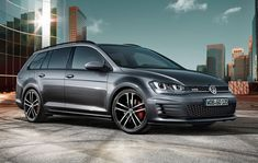 Because there's no such thing as too many diesel wagons. Volkswagen will debut its first ever Golf GTD Estate at the Geneva auto show in March. The station wagon carries the same diesel four-cylinder engine as the traditional GTD. Volkswagen Golf Variant, Volkswagen Golf Gti, Vw Golf Variant, Vw Arteon, Volkswagen Models, Vw Golf Tdi, Volvo Xc90, Golf Gtd, Peugeot