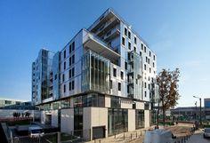 Gallery of Social Housing In Paris / Dietmar Feichtinger Architectes - 1