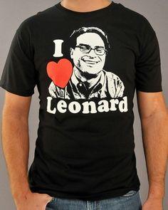 Big Bang Theory Leonard T Shirt <3