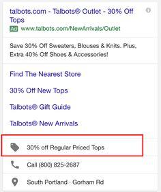 Google testa nuove promozioni nell'estensioni degli annunci. #AdWords #GoogleAdWords #SEM