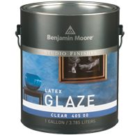 Unique Glitter & Metallic Paint - Benjamin Moore Faux Paint in Pearlescent White is beautiful!