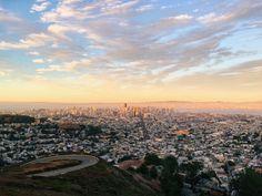 San Francisglow // #sunset #sanfrancisco