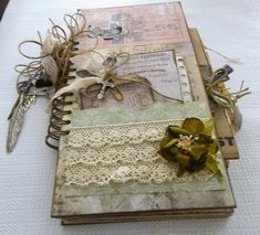 Look at the Tutorials for you page.  Creative Cafe': Wallflower Junk Journal