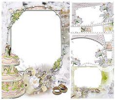 wedding frame glasses found