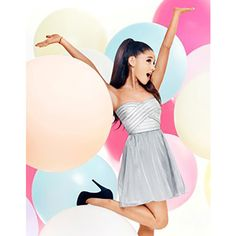 ARIANA GRANDE FOR LIPSY BANDAGE PROM DRESS ❤ liked on Polyvore featuring dresses, pink dress, lipsy, pink prom dresses, bandage dress and prom dresses