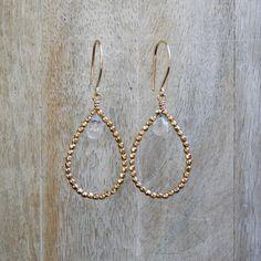 Pavone Earring-Crystal Quartz