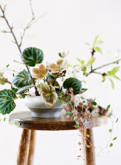 Recently, I've been falling in love with these beautiful Ikebana pieces. I love the simplicity that these floral art pieces take on and it . Floral Centerpieces, Wedding Centerpieces, Wedding Bouquets, Floral Arrangements, Centrepieces, Flower Arrangement, Purple Bouquets, Tall Centerpiece, Bridesmaid Bouquets