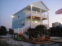 House vacation rental in Pensacola Beach from VRBO.com! #vacation #rental #travel #vrbo
