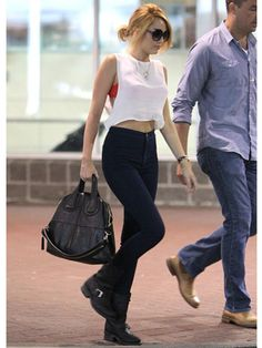 Miley Cyrus Style - Miley Cyrus Street Fashion Pictures - Marie Claire