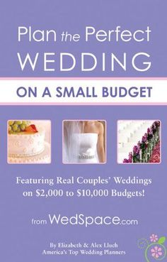 Check how to plan wedding professionally: http://tips-wedding.com/how-to-plan-wedding-checklist/ Plan the Perfect Wedding on a Small Budget: Featuring Real Couples Weddings on $2,000 to $10,000 Budgets http://diyweddingplanner.hubpages.com/hub/Dollar-Store-Weddings