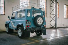 This Vintage Land Rover Ninety = Perfect - Airows