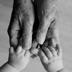 Grandma's loving touch
