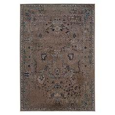Antique Scroll Rug - Gray $499 8x11