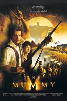 "The Mummy (1999) PG-13 - ""Death is only the beginning."""