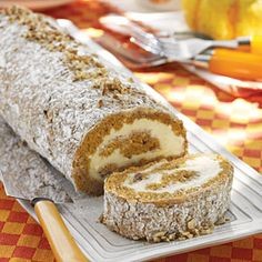 Easy Holiday Pumpkin Roll~