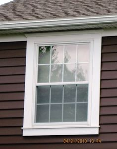 Exterior Window Trim Brick window trim. taken from azek. | home exterior | pinterest