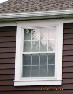 Azek on pinterest window trims railings and decks - Vinyl trim around exterior windows ...