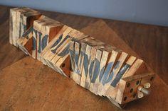 Vintage Domino Sculpture/Object