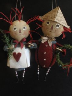Raggedy Ann and Andy  KIT  4th in the Storybook by cheswickcompany
