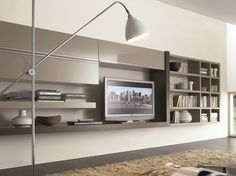 CROSSING Mueble modular de pared composable by MisuraEmme diseño Mauro…
