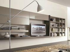 CROSSING Mueble modular de pared composable by MisuraEmme diseño Mauro…