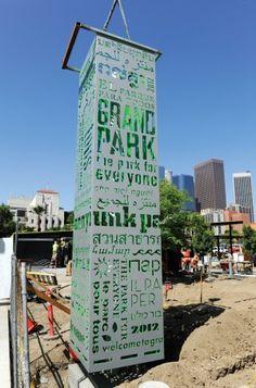 Grand Park Signage - Rios Clemente Hale Studio