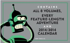 Get this offer now meatbag! Futurama: The Complete Series on DVD for only $79.49!!  GO TO amzn.to/1hmCach