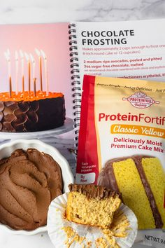 This classic flavor combo never disappoints, especially when it has 15g protein and only 2g added sugar per serving. Our protein cake mix bakes and tastes like traditional cake - no weird ingredients to add, no dry, dense texture. And the two-ingredient #sugarfree chocolate frosting can't be beat! 🥣Give this combo a try, and let us know what you think! #proteinfull #proteinfullbaking #proteincake #glutenfreecake #avocadofrosting Sugar Free Chocolate, Chocolate Frosting, Sugar Free Frosting, Protein Cake, Traditional Cakes, Yellow Cake Mixes, Healthy Cake, Sugar Free Desserts, Gluten Free Cakes