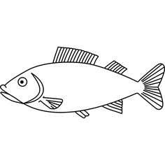 fish outline - Google Search
