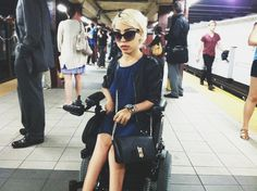 Jillian Mercado, Manufactured1987 fashion blogger