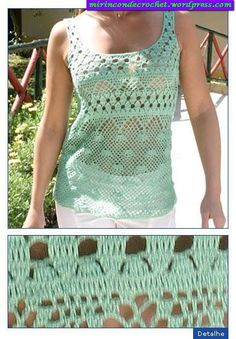 Ideal para estos calores!!!!! | Mi Rincon de Crochet