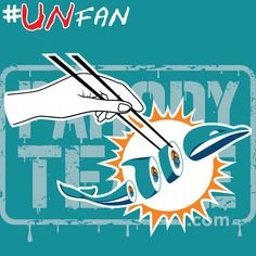 Funny Dolphins Parody Logo #UNfan #Jets #Patriots #Bills #Dolphins #NFL #ParodyTease #memes