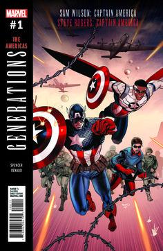 Обложки ваншотов «Generations» от Marvel | GeekCity