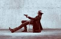 """Seth Bullock - """"Deadwood"""" or Raylan Givens - """"Justified"""" either way it is Timothy Olyphant! Nice!!"""