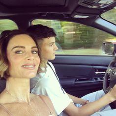 Finally being chauffeured by my boy. #whatgoesaround @hugocverea On my way @shareefmalnik || gabrielleanwar's Instagram