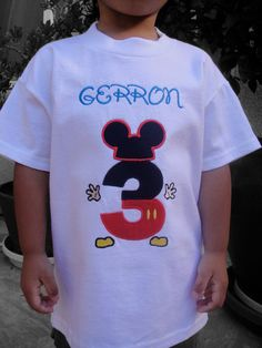 Birthday at Disney Shirt