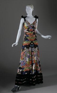 Dress  Elsa Schiaparelli, 1938  The Los Angeles County Museum of Art