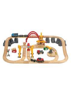 Cargo Railway Deluxe Set from Brio Toys