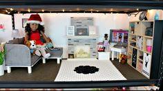 American Girl Doll Living Room Tour! American Girl Doll House!