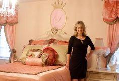 celebrity girl's room  by Jack and Jill Interiors, Sherri Blum, Celebrity Nursery Designer.