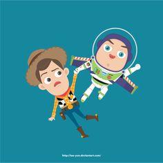 Woody & Buzz by Tae-yun Ann [©2013-2014]