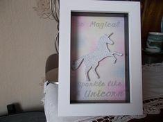 Wall Art. Unicorn home deco. Unicorn picture