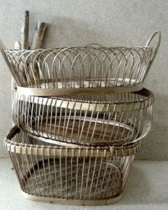 Not seen these wire baskets, love!